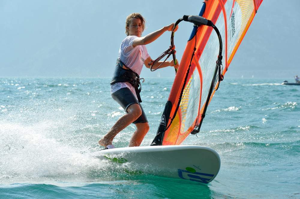 Windsurf Disegno: Vasco Renna Corsi Windsurf, Windusrfkurse, Windsurf Courses
